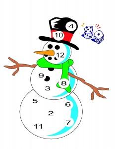 snowman dice (2)