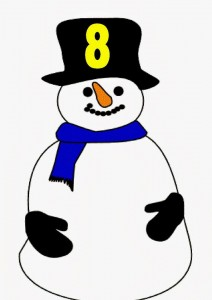 snowman number eight