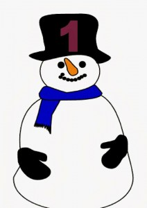 snowman number one