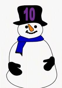 snowman number ten