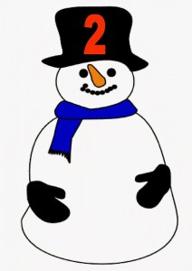 snowman number wo