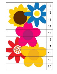 spring color flowers puzzle