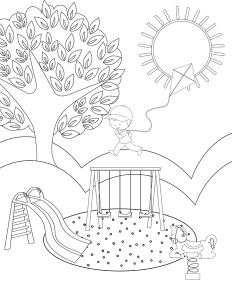 spring coloring pages activities