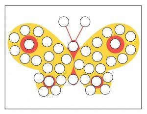 spring do a dot butterfly