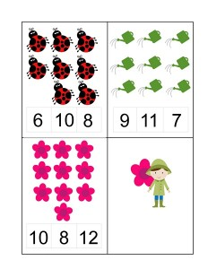 spring math exercise