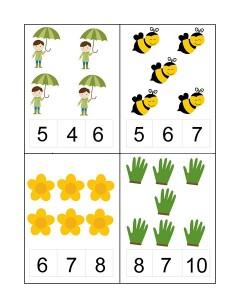 spring number activities