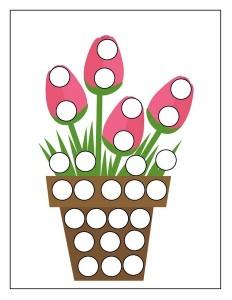 tulip spring do a dot
