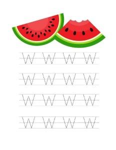 watermelon pre writing