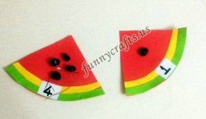 watermelon theme preschool activities