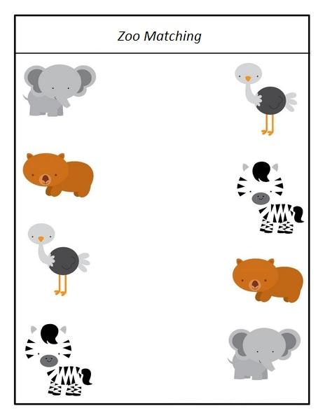Free Preschool Zoo Crafts