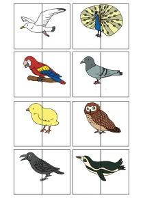 2 piece animal puzzle