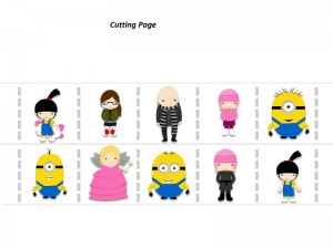Despicable me cutting pages (1)