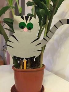 How to make paper cat