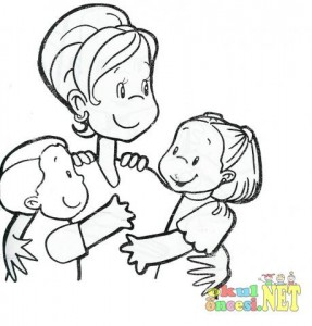 Mother s Day coloring pages for  kıds (16)