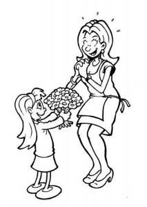 Mother s Day coloring pages for  kıds (2)