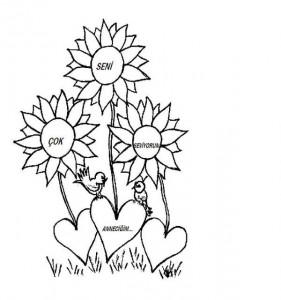 Mother s Day coloring pages for  kıds (3)