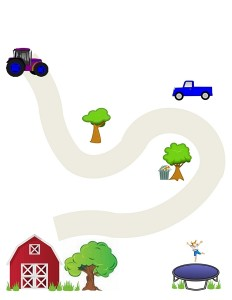 Vehicles activities for toddlers