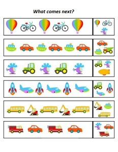 Vehicles pattern (2)