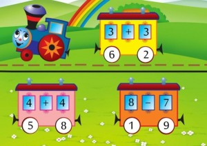 addition and subtraction math train (4)