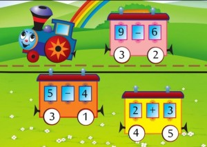 addition and subtraction math train (7)