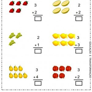 addition worksheets for preschhol (1)