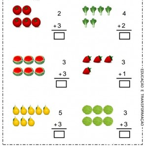 addition worksheets for preschhol (2)