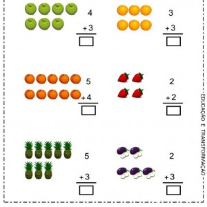 addition worksheets for preschhol (5)