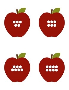 apple worm number matching game for kids (11)
