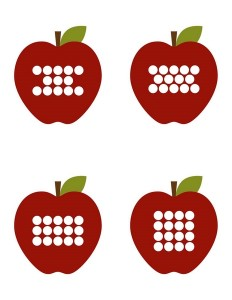 apple worm number matching game for kids (3)