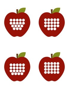 apple worm number matching game for kids (4)