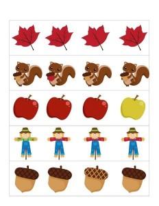 autumn theme activities differant