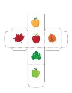 autumn theme activitiesmake a dice