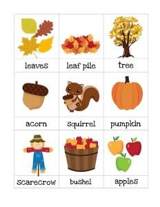 autumn theme cards