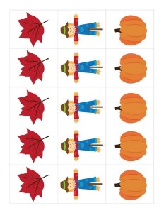 autumn theme pattern pictures