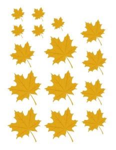 autumn theme size