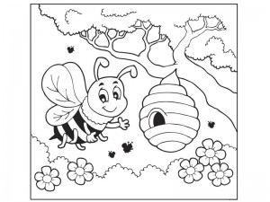 bugs coloring pages cool (9)