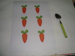bunny carrot activity