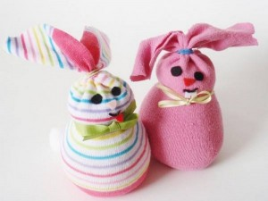 bunny crafts sock