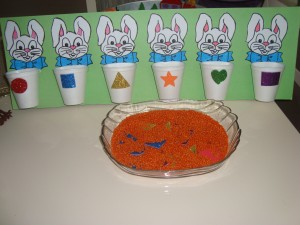 bunny shapes sorting activities (2)