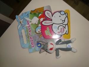bunny themed book
