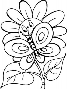 butterfly coloring pages (14)