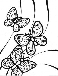 butterfly coloring pages (16)