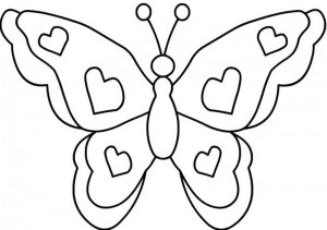 butterfly coloring pages (20)