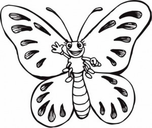butterfly coloring pages (22)