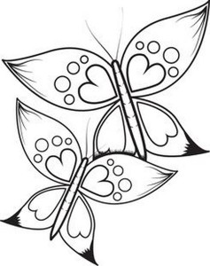 butterfly coloring pages (5)