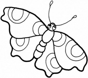 butterfly coloring pages (8)