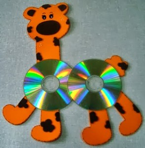cd crafts for kids-5