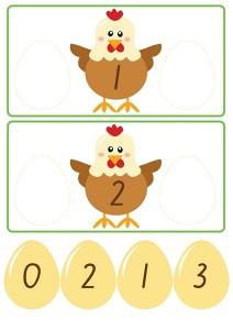 chicken count activities for kıds (1)