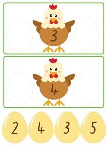 chicken count activities for kıds (2)