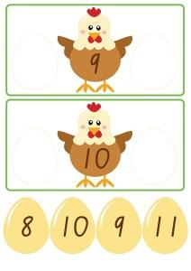 chicken count activities for kıds (3)